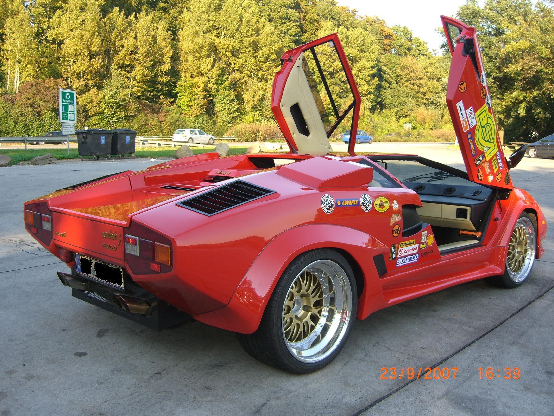Strohm%20Heck Wonderful Lamborghini Countach Strohm De Rella Cars Trend